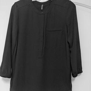 Black blouse 3/4 sleeve size S